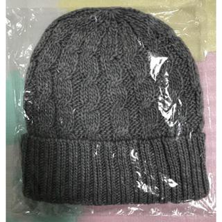 ローリーズファーム(LOWRYS FARM)のローリーズファーム グレー ニット帽(ニット帽/ビーニー)