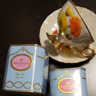 ウェッジウッド(WEDGWOOD)のウエッジウッド ティー カップ付 紅茶(茶)