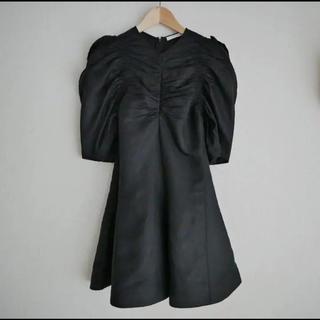 セリーヌ(celine)のCeline ブラック ジャンプスーツ(ひざ丈ワンピース)