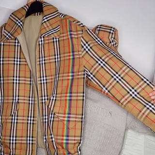 BURBERRY - Burberry Reversible Rainbow Jacket
