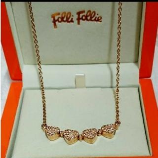 フォリフォリ(Folli Follie)のFolli Follie 四葉のクローバーネックレス HEART 4 HEART(ネックレス)