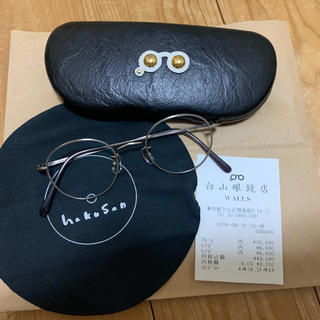 テンダーロイン(TENDERLOIN)の白山眼鏡店 チタン 丸眼鏡 ボストン 白山 メガネ (サングラス/メガネ)