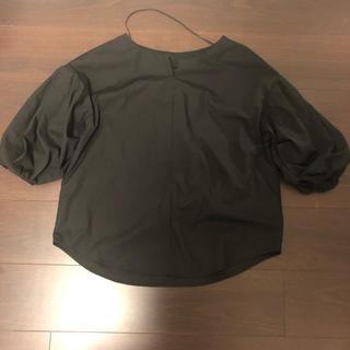 ジーユー(GU)のボリュームスリーブブラウス(シャツ/ブラウス(半袖/袖なし))