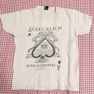 グラニフ(Graniph)のgraniph グラニフ Tシャツ 半袖 ピンク スペード タイト 小さめ(Tシャツ/カットソー(半袖/袖なし))
