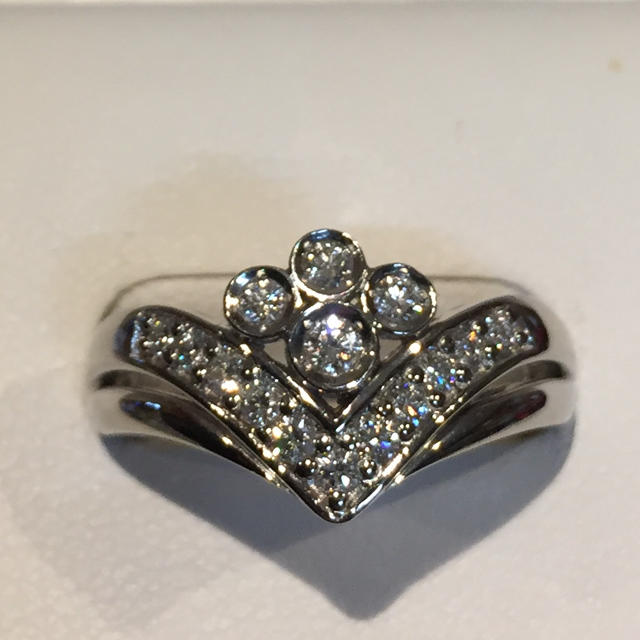 POLA(ポーラ)の【豪華】 ポーラ プラチナ ダイヤモンド リング 19Y-76 レディースのアクセサリー(リング(指輪))の商品写真
