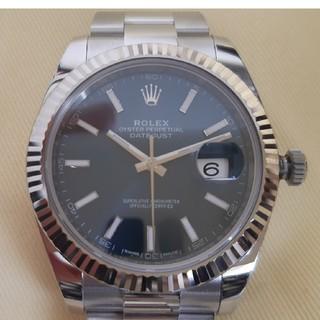 ロレックス(ROLEX)の値下げROLEX ロレックス Datejust41 126334 極美品 正規品(腕時計(アナログ))