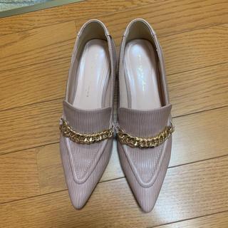 エイミーイストワール(eimy istoire)のエイミーイストワール チェーンローファー かなりお値下げしました。(ローファー/革靴)