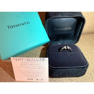 ティファニー(Tiffany & Co.)の【8号ティファニーTリング:シルバー】(リング(指輪))