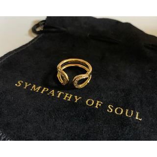 エスオーエスエフピー(S.O.S fp)のレッド様専用 SYMPATHY OF SOUL ダブルホースシュー リング(リング(指輪))