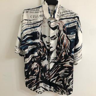 ディオール(Dior)のDior シルクシャツ(シャツ)