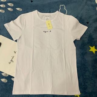 アニエスベー(agnes b.)のagnes b.小文字 白アニエス ベー Tシャツ(Tシャツ/カットソー(半袖/袖なし))