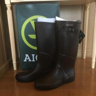 エーグル(AIGLE)のAIGLE  レインブーツ  新品(レインブーツ/長靴)
