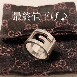 グッチ(Gucci)のGUCCI 指輪 リング 11号【正規品 美品】(リング(指輪))