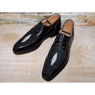 スティングレイ×イールスキン Belvedere ドレス 黒 28,5cm(ドレス/ビジネス)