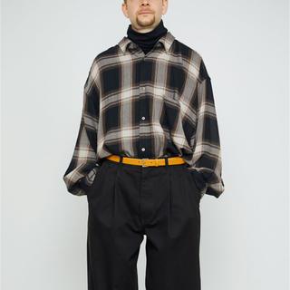 サンシー(SUNSEA)の[Graphpaper]Big Sleeve Shirt(シャツ)
