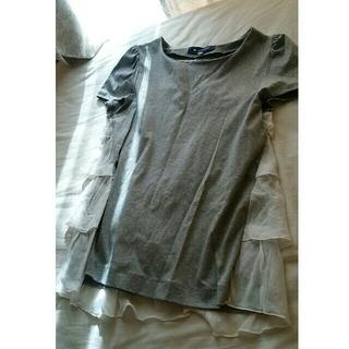 エムズグレイシー(M'S GRACY)の【シッキーママ様専用】♡バックスタイルが可愛い♡Tシャツ グレー(Tシャツ(半袖/袖なし))