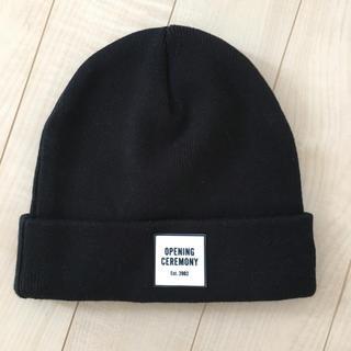 オープニングセレモニー(OPENING CEREMONY)のオープニングセレモニー ニット帽(ニット帽/ビーニー)