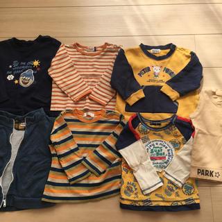 シップス(SHIPS)の子供服 SHIPS他7点まとめ売り(サイズ90)(Tシャツ/カットソー)
