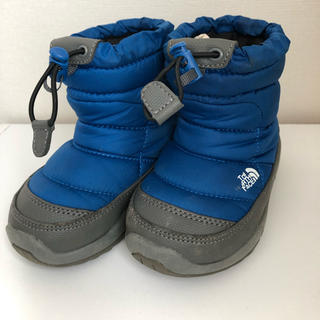THE NORTH FACE - THE NORTHFACE ヌプシ キッズ ブーツ