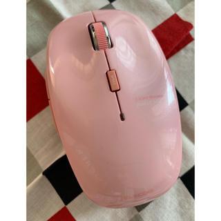 エレコム(ELECOM)のELECOM Bluetooth LEDマウス 無線 ピンク(PC周辺機器)