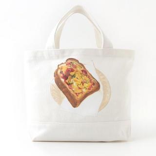 ピンクハウス(PINK HOUSE)の新品♡定価10260円 ピザトート、ショルダーバッグ 綿100生地 大特価❣️(トートバッグ)