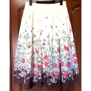 ローラアシュレイ(LAURA ASHLEY)のローラアシュレイ  スカート サイズ7(ひざ丈スカート)