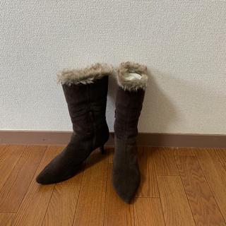 エレガンスヒミコ(elegance卑弥呼)のelegance卑弥呼 秋冬 ボア付きブーツ(ブーツ)