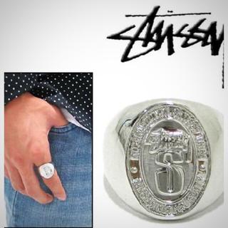 ステューシー(STUSSY)の✨STUSSY LIVINリング Big S (リング(指輪))