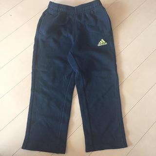 アディダス(adidas)のアディダス 裏起毛パンツ 黒 120(パンツ/スパッツ)