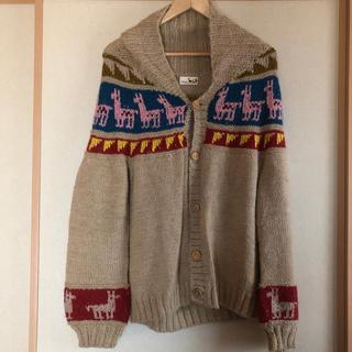 チチカカ(titicaca)のカウチン ペルー手編み チチカカ(カーディガン)