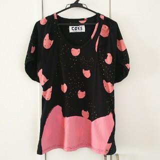ツモリチサト(TSUMORI CHISATO)のTSUMORI CHISATO ねこTシャツ CATS ツモリチサト 猫(Tシャツ(半袖/袖なし))