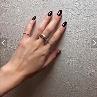 エテ(ete)のツイストリング シルバーリング(リング(指輪))