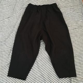 コムデギャルソン(COMME des GARCONS)のヒムカシ パンツ 黒 超軽量·撥水(サルエルパンツ)
