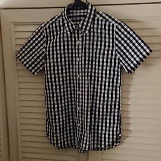 ムジルシリョウヒン(MUJI (無印良品))の無印良品 半袖 チェックシャツ (シャツ/ブラウス(半袖/袖なし))