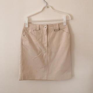 マックスマーラ(Max Mara)のMaxMaraホワイトスカート(ミニスカート)