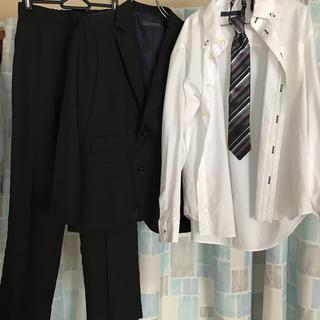 ヒロミチナカノ(HIROMICHI NAKANO)のヒロミチナカノ キッズ スーツ シャツ ネクタイ サイズ150(ドレス/フォーマル)