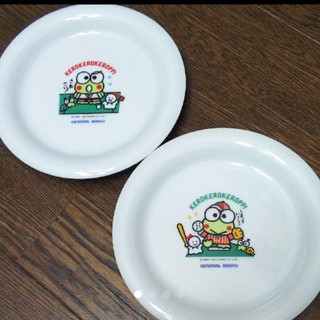 サンリオ(サンリオ)の非売品/ケロケロケロッピ皿(ノベルティグッズ)