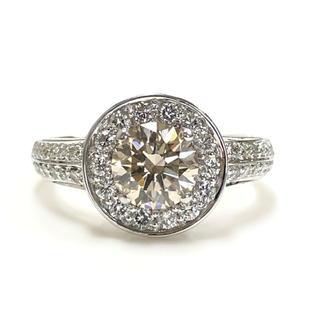 K18 エクセレントダイヤモンドリング(リング(指輪))