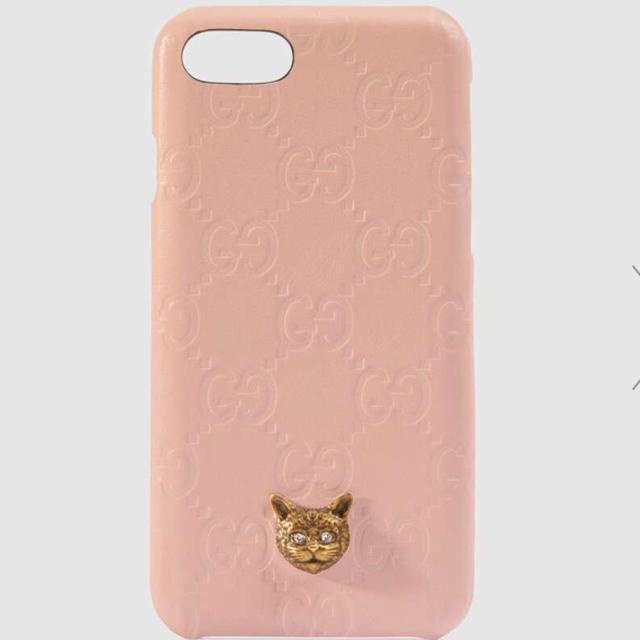 Gucci - GUCCI iPhonexsケース  ピンクの通販