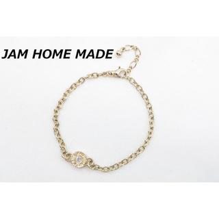 ジャムホームメイドアンドレディメイド(JAM HOME MADE & ready made)の【R-559】JAM HOME MADE ラインストーン ブレスレット(ブレスレット/バングル)