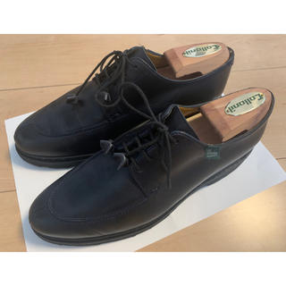 パラブーツ(Paraboot)のPARABOOT VELEY 紺 23.5cm(ローファー/革靴)