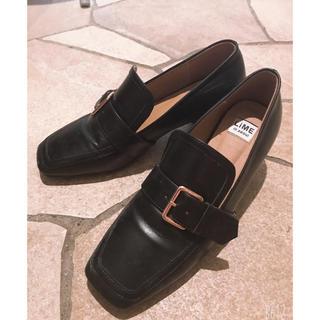 ロキエ(Lochie)のvintage ヒールローファー (ローファー/革靴)