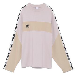スナイデル(snidel)のSnidel FILA コラボ ロンT(Tシャツ(長袖/七分))