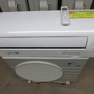 K835 ダイキン 中古エアコン 主に6畳用 冷2.2kw/暖2.2kw(エアコン)