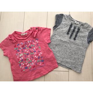 ラグマート(RAG MART)のラグマート トップス Tシャツ 2枚組 80(Tシャツ)