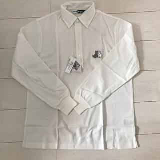 ポロラルフローレン(POLO RALPH LAUREN)のblack&white ポロシャツ M(ウエア)