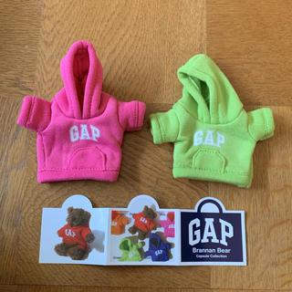 ギャップ(GAP)のGAP ガチャ ミニパーカーセット ピンク グリーン(キャラクターグッズ)
