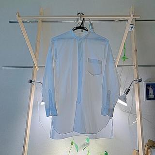 コモリ(COMOLI)のCOMOLI ノーカラーシャツ(シャツ/ブラウス(長袖/七分))