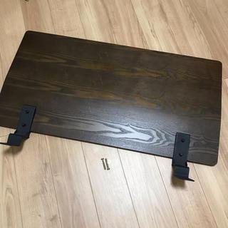 ムジルシリョウヒン(MUJI (無印良品))の無印良品 MUJI ムジ|木製ベッドフレーム用 ヘッドボード|シングル ブラウン(シングルベッド)