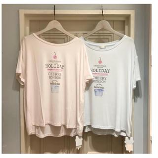 ジェラートピケ(gelato pique)のgelato pique ◆ パフェロゴTシャツ ◆ ミント(Tシャツ(半袖/袖なし))